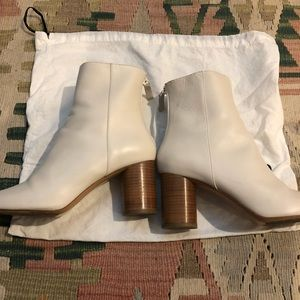 Sandro Shoes - Sandro ankle boots white size 38